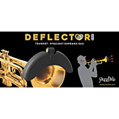 Compatible with all sizes of saxophone, and now also trumpet and trombone Deflects the sound from the bell back towards the player Perfect for gigs to enable you to hear yourself better within a band Allows for quieter, more focused practice and tone...