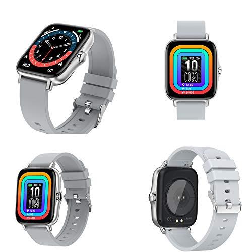 Xiao Smart Watch, SmartWatch para teléfonos Android y teléfonos iOS, Rastreador de Fitness IP67 Impermeable con frecuencia cardíaca y Monitor de sueño, Relojes Inteligentes para Hombres y Mujeres