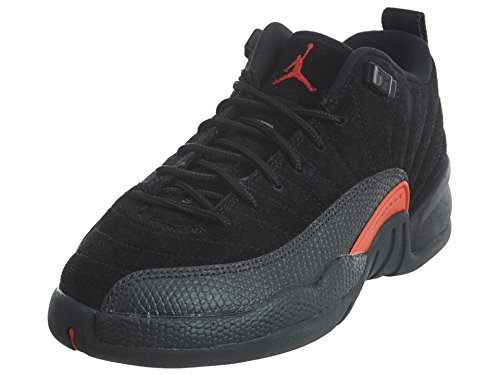 Nike AIR JORDAN 12 RETRO LOW BG (GS) 'MAX ORANGE' - 308305-003 - 4.5 - US Size