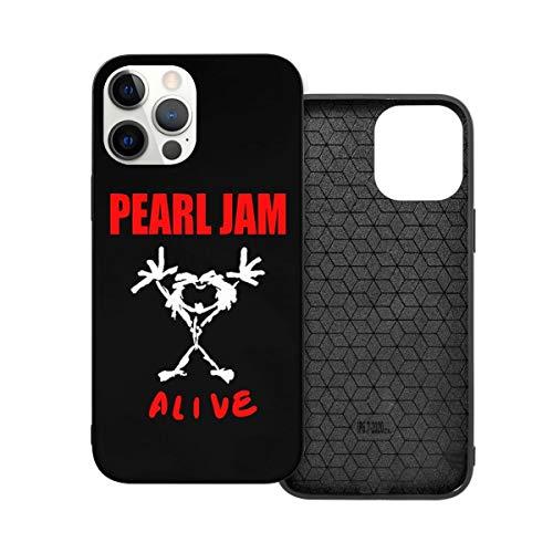 N / A Pearl Jam Handyh¨¹lle iPhone 12 PC Materiale Unisex per proteggere la persistenza del telefono cellulare resistente alla polvere Iphone12mini-5.4