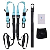 Allenamento Sospensione, Workout Set per Suspension Fitness Body Training Incluso Ancoraggio per...