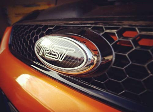 Focus Mondeo Fiesta Ranger Gelaufkleber Gel-Embleme für Front,Heck,Lenkrad (Focus ST MK2)