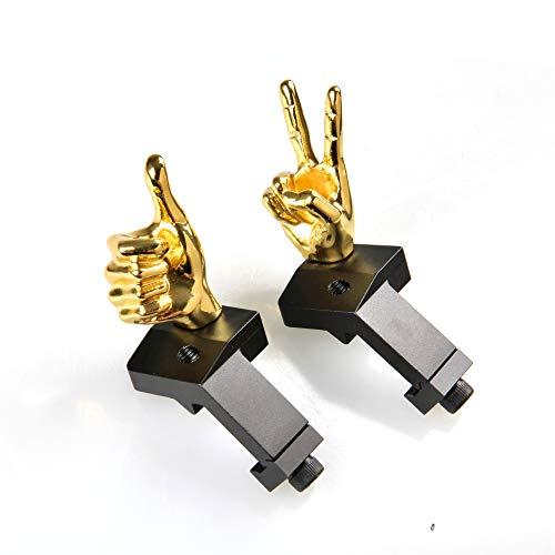 STINGER Novelty Finger Sight Set, Fixed Offset 45 Degree...