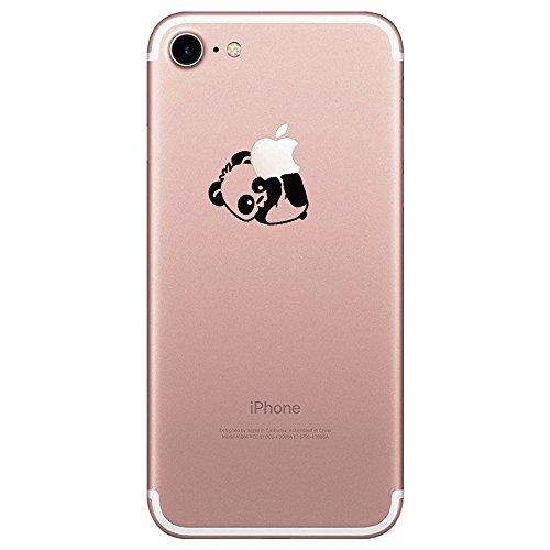 Teryei Coque iPhone 7/8, Silicone TPU Souple Housse [ Ultra Mince ] Anti-Scrach Case Full Protection Transparent Anti-égratignures Bumper pour iPhone 7/8 (6, iPhone 7)
