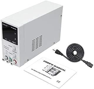 Shemiqi DC Programmable Adjustable DC Power Supply Digital Regulated US/UK Plug (Black)