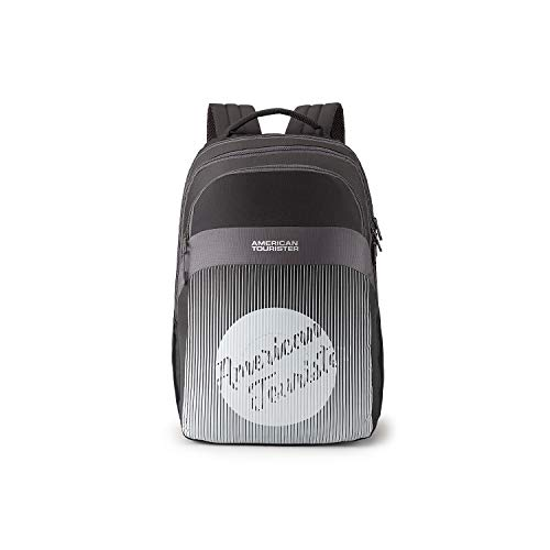 American Tourister Crone 28 Ltrs Black Casual Backpack (FG8 (0) 09 204)
