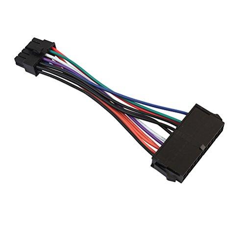 LEDMOMO ATX 24-Pin-Buchse auf 12-Pin-Stecker Kabel Netzteil Kabel 18AWG Sleeved Cord für Acer