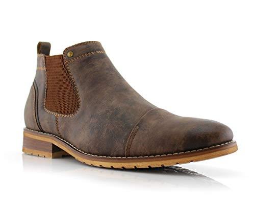 Ferro Aldo MFA606325 Slip On Ankle Men's Casual Chukka Boots Brown 11