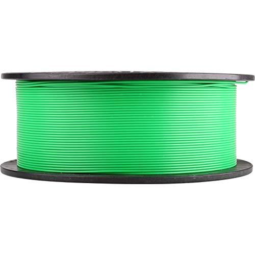 Filamento 3D PLA 1,75 mm 1 kg rotolo per stampante 3D in confezione sottovuoto (verde)