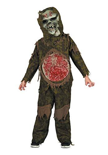 Bristol Novelty Demon + Masker, Jongens, Groen
