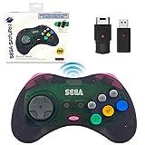 retro-bit SEGA Saturn® 8-Button Arcade Pad 2.4GHz Wireless State Grey レトロビット セガ サターン® 8ボタン アーケードパッド 2.4GHz ワイヤレス コントローラ ステートグレー