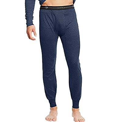 Duofold by Champion by Men's Thermals Mid-Weight Base-Layer Underwear_Navy_L