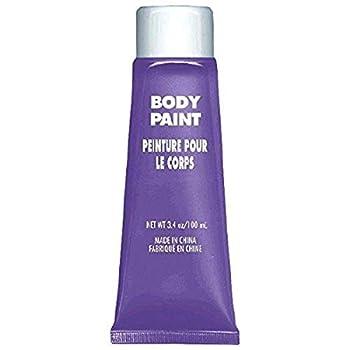 Amscan 3900761 Non Toxix Cream Based Full Body Paint 34 Oz Purple