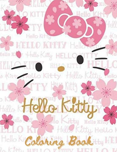 Hello Kitty Coloring Book: An A4 100 page coloring book for kids to enjoy ,There's Many Different Hello Kitty Characters to Color