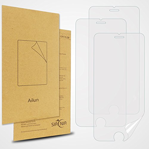 AILUN Screen Protector Compatible with iPhone 6S iPhone 6 3Pack 4.7 Inch 3D Touch Compatible HD Premium PET Ultra Clear Anti Scratch Siania Retail Package