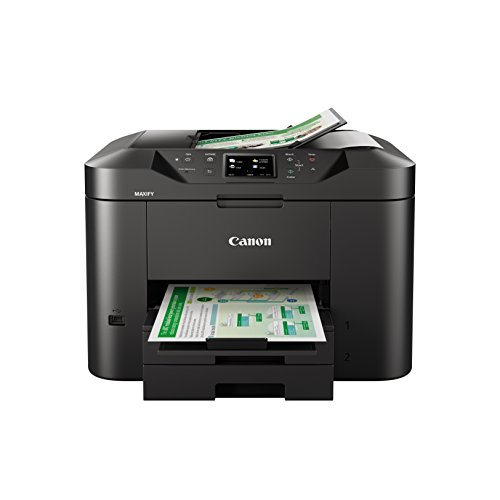 Canon MAXIFY MB2720 Wireless Color Printer with Scanner, Copier & Fax, Black
