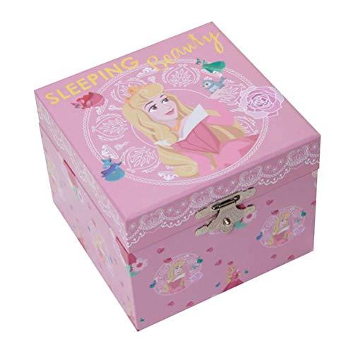 Widdop Disney Princess Aurora Pastel Musical Jewellery Box