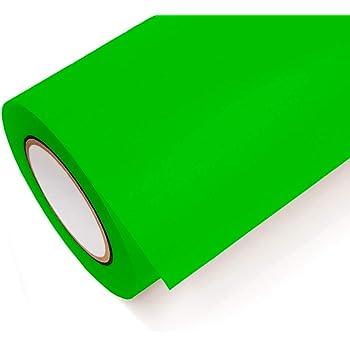 Lámina adhesiva de neón Oracal 6510 fluorescente Cast ï amarillo, naranja, rojo, verde y rosa para muebles, Verde neón - 069, 5m x 1m: Amazon.es: Hogar