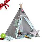 Tente de jeu pour tente Lamptti Kids - Tente Indian Playhouse (sans tapis et...
