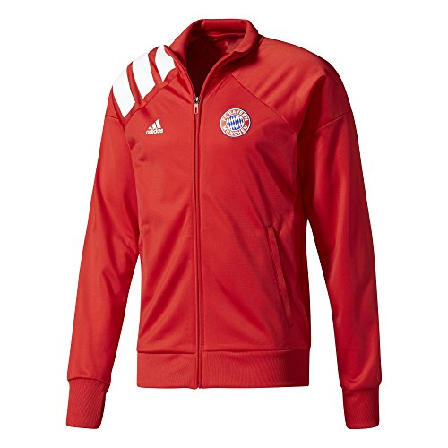 adidas Herren Fc Bayern München Trainingsjacke Jacke, Red/Rojfcb/Blanco, M