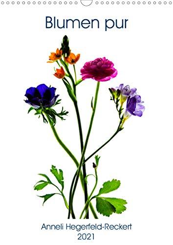 Blumen pur (Wandkalender 2021 DIN A3...