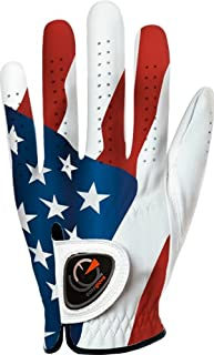 personalized leather golf gloves