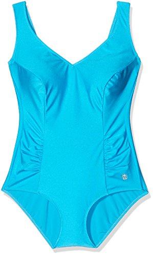 Palm Beach Damen Badeanzüge Nos Halbcorsage ,Türkis(4000),42 (Manufacturer Size:42C)