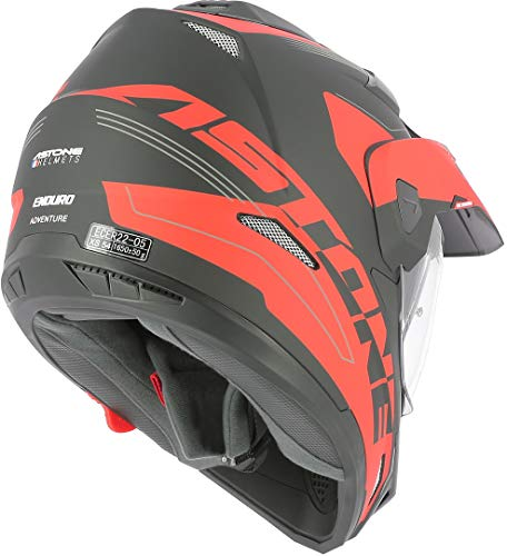 Astone Helmets tourer-advbrl Kopfhörer Tourer Adventure, Grau/Schwarz, M - 3