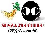 CiaoCaffè SENZA ZUCCHERO Capsule Ginseng Compatibili Lavazza A Modo Mio (100)