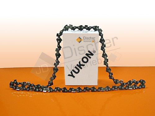 2 chaînes de tronçonneuse 3/8P-1,3–40 professionnelle pour 25 cm Flora Best FHE 550 A1