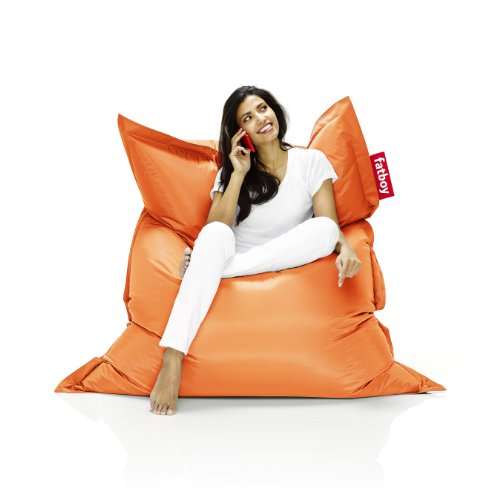 Fatboy The Original Bean Bag Chair, Orange