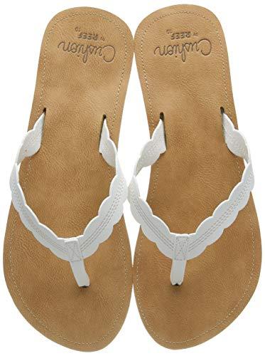 Reef Women's Sandals Cushion Celine | Water Friendly Flip Fop | Cloud | Size 5