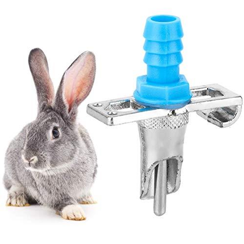 BZZBZZ Dispensador de Bebidas de Animales pequeños de 100 Uds, Bebedero automático de Agua, Grifo de pezón, Equipo para Beber de Ganado para Conejo y mi Vecino Totoro