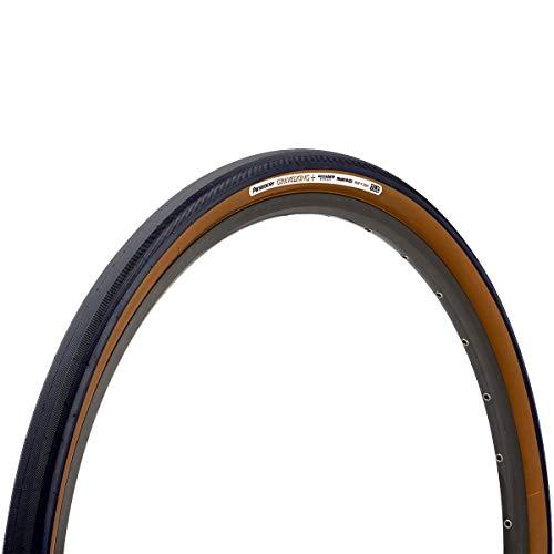 Panaracer GravelKing+ TLC Folding Neumáticos, Unisex Adulto, Negro/marrón, 700 x 32C