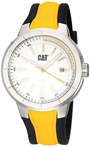 Reloj Análogo Para Hombre De Acero Inoxidable Amarillo Na14127217