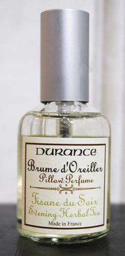 デュランス ピローミスト50ml(イブニングハーバルティーの香り)