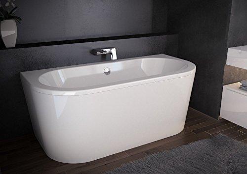 Design freistehende Badewanne VISTA ACRYL (140x75x70 cm)
