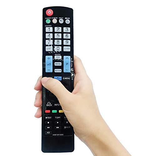 FireRune Telecomando universale per tutti i TV LG Smart 3D LED LCD HDTV TV - nessuna configurazione richiesta telecomando universale AKB72914293 AKB72915207 AKB72914209