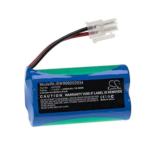 vhbw Akku kompatibel mit Severin Chill AH 7914, HV 7144 Staubsauger Home Cleaner Heimroboter (2500mAh, 7,4V, Li-Ion)