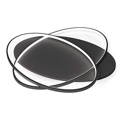 Plafondlamp helder zwart-wit LED creatieve kamer lamp slaapkamer lamp persoonlijkheid woonkamer lamp warme verlichting robuust