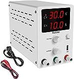 Alimentatore da Banco Alimentatore da Laboratorio DC Regolabile Stabilizzato Display LED a 3 Cifre(30V 10A)