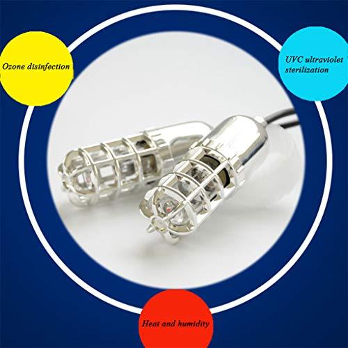 HCP LED-Lampe In-Shoes Sterilisator UV-Sterilisationslampe UV-keimtötendes Licht Mit Ozon-Luftreiniger Desodorierendem Sterilisator Fuß Gesundheitsschutz Für Schuhe Auto Kleiner Raum