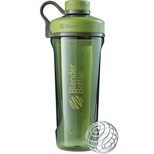 BlenderBottleRadian Tritan Shaker Bottle, Moss Green, 32-Ounce