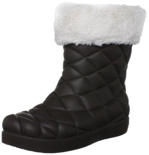 Crocs Super Molded Cuffed Puff Boot 12514-23W-500, Boots Femme - Marron-TR-H1-226, 41/42 EU