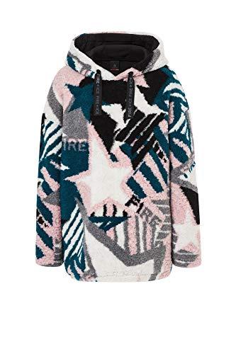 Bogner Fire + Ice Ladies Vivien Pink, Damen Fleece-Pullover, Größe S - Farbe Dusty Rose