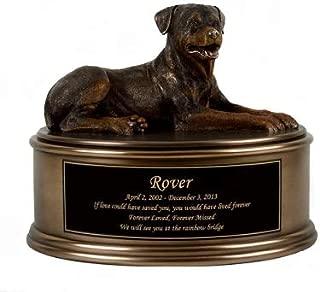 Perfect Memorials Rottweiler Figurine Cremation Urn