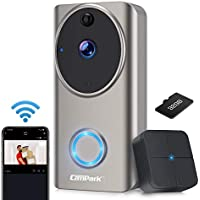 Campark 1080P HD WiFi Video Doorbell Camera with Free Chime
