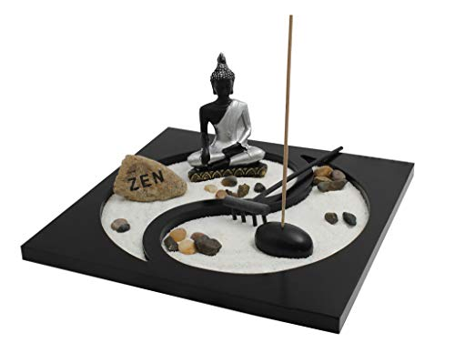 Yin and Yang zen garden