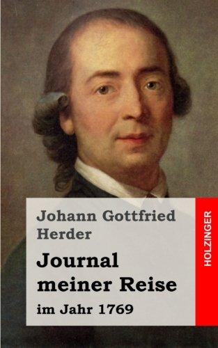 Journal meiner Reise: im Jahr 1769
