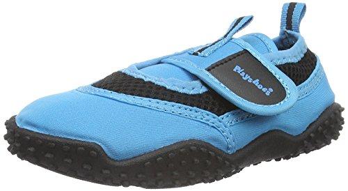 Playshoes Unisex dziecięce buty aqua, niebieski - niebieski niebieski 7-30 EU